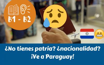 La pionera ley de protección de personas apatriadas en PARAGUAY