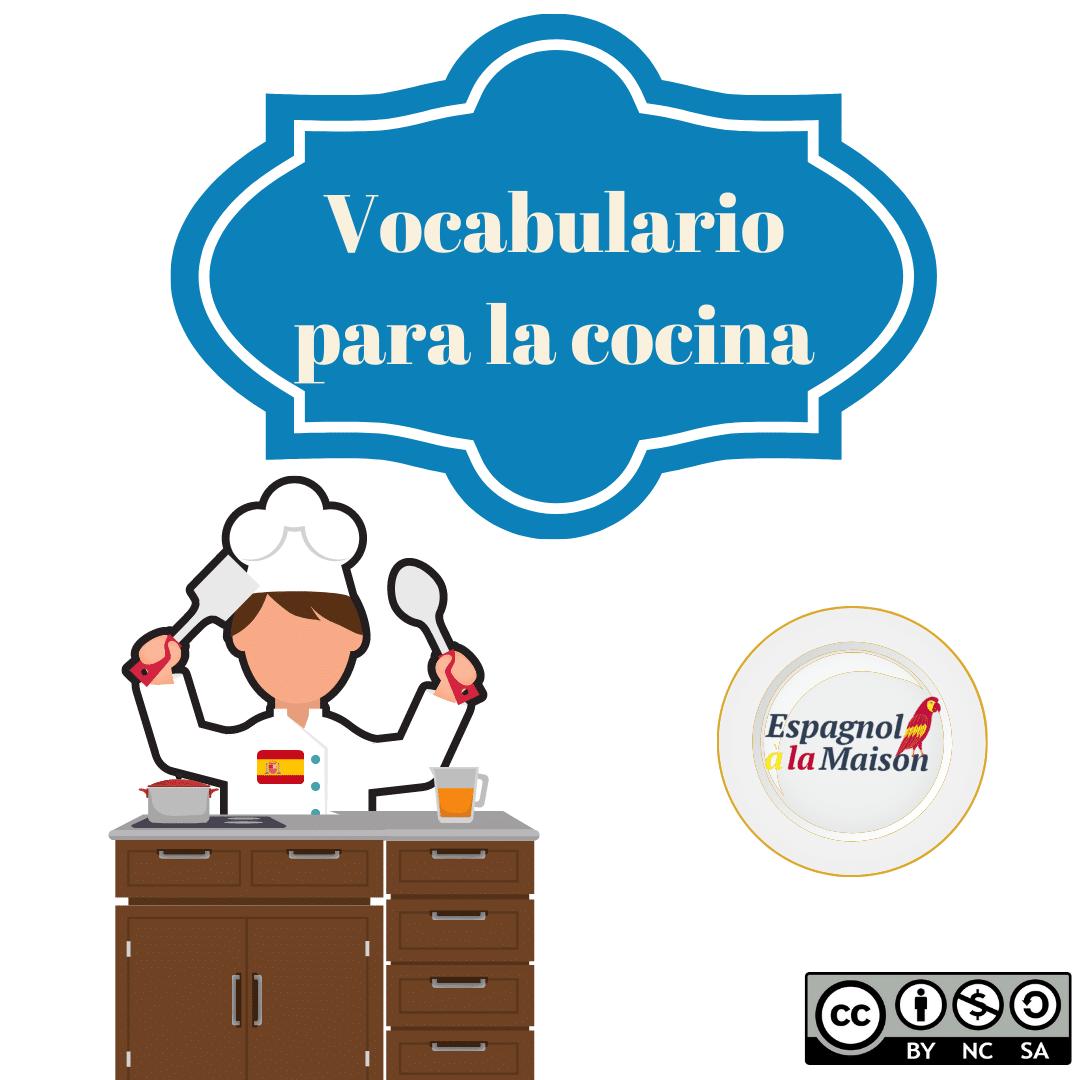 Léxique de la cuisine_ espagnol
